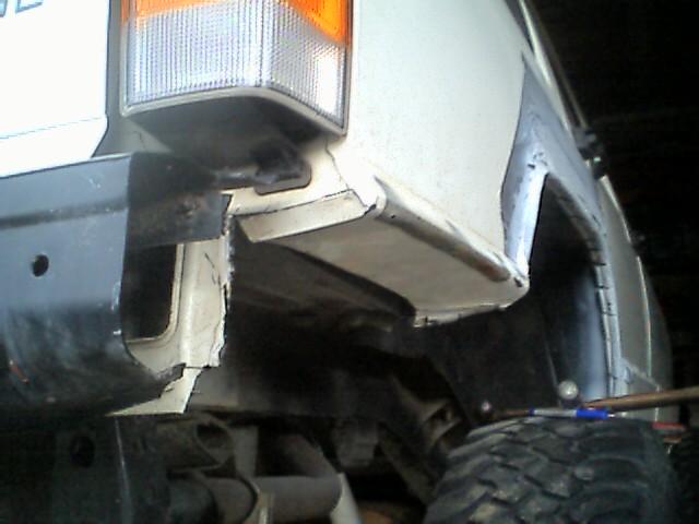 Cutting Lower Rear Quarter Panels